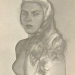 Portrait of Violeta López Lomba (Solarization)