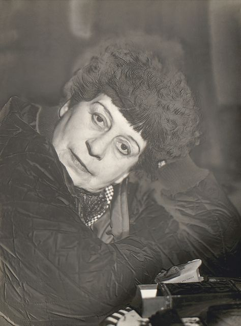 Portrait of Florence Henri (Solarization)