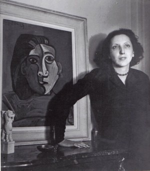 Susana Soca by André Ostier, Paris 1947. Collection J.Alvarez Márquez