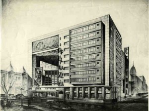 Plaza Cinema, Montevideo, by architect Rafael Lorente Escudero