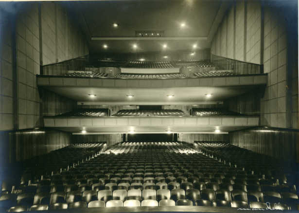 Plaza Cinema, Montevideo, late 1940s